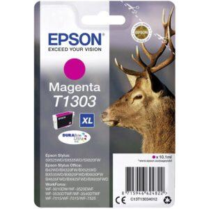 EPSON cartucho inkjet magenta DURABRITE T1303XL 765P STYLUS-SX/Office B/BX C13T13034012
