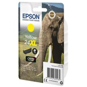 EPSON cartucho inkjet amarillo CLARIA PHOTO 24XL 740P XP-55/7XX/8XX/9XX C13T24344012