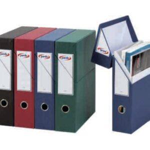 PARDO Estuche archivador  Lomo 80mm A4 *NEGRO*245601