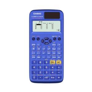 CASIO Calculadora científica 292 funciones FX-85SPXII-S-ET solar y pilas / color AZUL