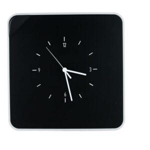 PAPERFLOW Armario para llaves con Reloj. Color Negro. Fabricado en ABS brillo MTMKHC01