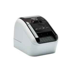 BROTHER Impresora de etiquetas térmica/62mm/USB/93epm/impresión negro-rojo