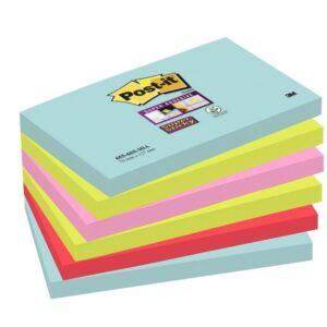 POST-IT Pack.6 bloc 76×127 miami 70005291631