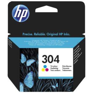 HP Cartucho tinta Tri-color 304