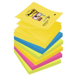POST-IT Pack.6 z-notes 76×76 surt 70005272490