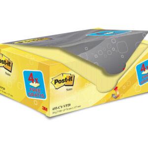 POST-IT Pack.16+4 bloc 76×127 am