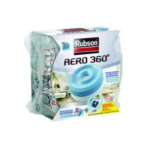 RUBSON Aero 360×1 recargas 450g tableta 2 en 1 absorbe humedad y neutraliza malos olores 1898051