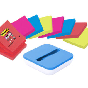 POST-IT Pack.8 blocs znotes 76×76+disp gratis val-ss8p-r330