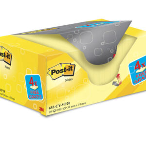 POST-IT Pack.16+4 bloc 38×51 am