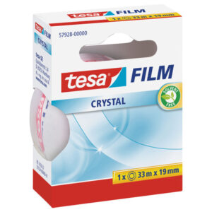 TESA cinta tesafilm® crystal 33mx19mm 57928-00000-01
