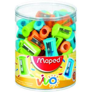 MAPED Afilalapiz Plastico Simple Colores surtidos