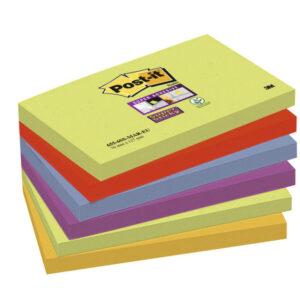 POST-IT Notas adhesivas Marruecos Pack 6 blocs 76x127mm 655-6SS-MAR-EU