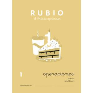 RUBIO CUADERNO RUBIO OPERACIONES Nº 1 PR-1