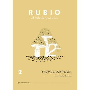 RUBIO CUADERNO OPERACIONES Nº 2 PR-2