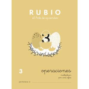 RUBIO CUADERNO OPERACIONES Nº 3 PR-3