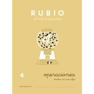 RUBIO CUADERNO OPERACIONES Nº 4 PR-4