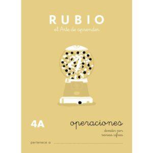 RUBIO CUADERNO OPERACIONES Nº 4A PR-4A