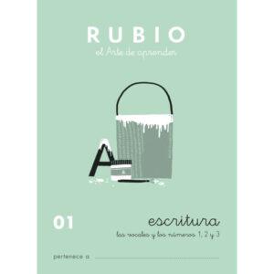 RUBIO CUADERNO ESCRITURA Nº 01 C-01