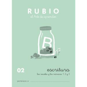 RUBIO CUADERNO ESCRITURA Nº 02 C-02