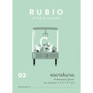 RUBIO CUADERNO ESCRITURA Nº 03 C-03