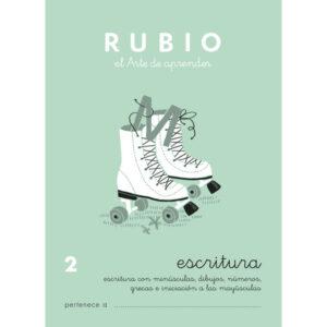 RUBIO CUADERNO ESCRITURA Nº 2 C-2