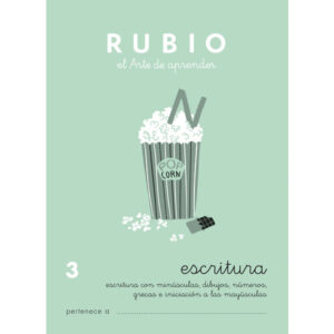 RUBIO CUADERNO ESCRITURA Nº 3 C-3