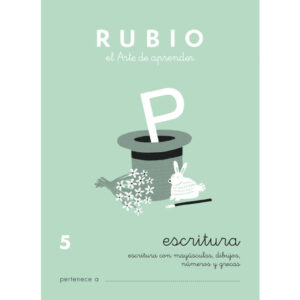 RUBIO CUADERNO ESCRITURA Nº 5 C-5
