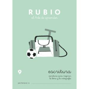 RUBIO CUADERNO ESCRITURA Nº 9 C-9