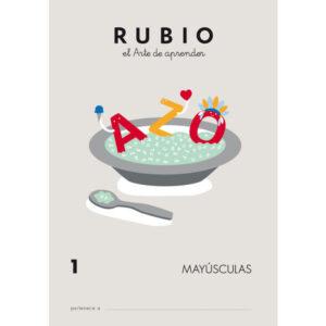 RUBIO CUADERNO ESCRITURA MAYUSCULAS Nº 1 MY-1