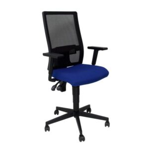 PYC Silla Povedilla respaldo malla negro asiento bali azul