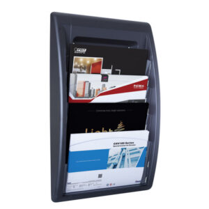 PAPERFLOW Expositor Quick Fit 4 CAS. A3 Negro 4060.01