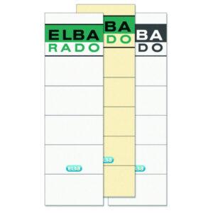 ELBA Etiqueta Autoadhesiva Lomera Pack 10 ud 54x190mm Blancas 100420947