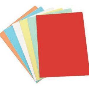 ELBA Subcarpetas Paquete 50 ud Folio Amarillo pastel 180 G 400040605