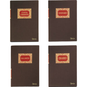 MIQUEL RIUS Libro Contable IVA compras Fº Natural   215×315 5065