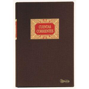 MIQUEL RIUS Libro Cuentas corrientes Fº Natural   215×315 4022