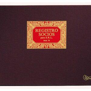 MIQUEL RIUS Libro Registro Socios SRL Fº Apaisado 315×215 5076