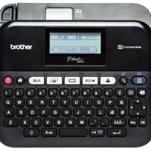 BROTHER Rotuladora electrónica de sobremesa con teclado QWERTY y conexión a PC