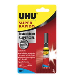 UHU Super Rápido Gel 3G 36547