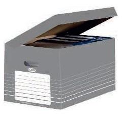 ELBA CONTENEDOR CON TAPA INTEGRADA BOX AUTO GRIS REF.400061159
