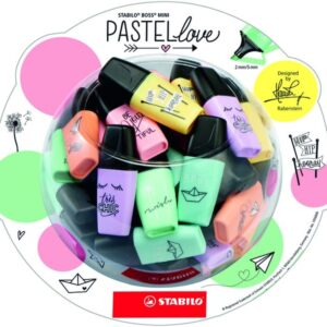 STABILO Bombonera 50 Boss Mini Pastel love 07/50-07