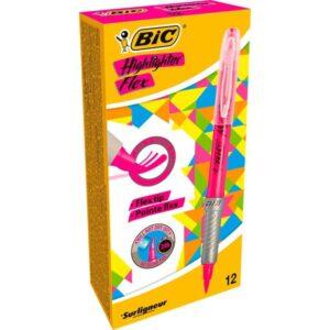 BIC Marcador fluorescente rosa Highlighter flex 949894