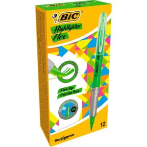 BIC Marcador fluorescente verde Highlighter flex 949868