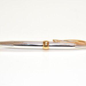 BOLIGRAFO PIERRE CARDIN CHAMBORD PLATA / ORO AP-9900