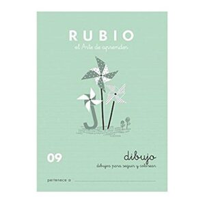 RUBIO CUADERNO ESCRITURA Nº 09 C-09