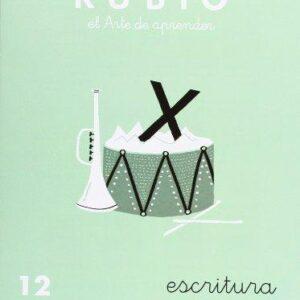 RUBIO CUADERNO ESCRITURA Nº 12 C-12