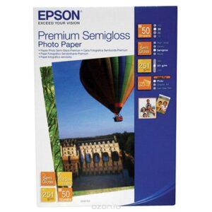 EPSON Papel fotografico S041765 50 hojas 10X15 251 G Semi Brillo C13S041765