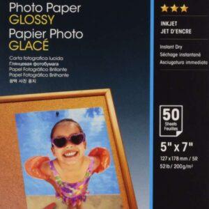 EPSON Papel fotografico S042545 5X7 cm Brillo 50 Hojas C13S042545