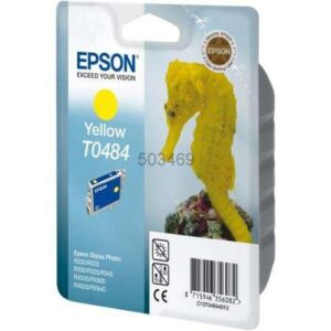 EPSON Cartucho inyeccion T0484 Amarillo Blister C13T04844010