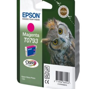 EPSON Cartucho Inyeccion T0793 Magenta C13T07934010