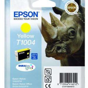 EPSON Cartucho Inyeccion T1004 Amarillo C13T10044010
